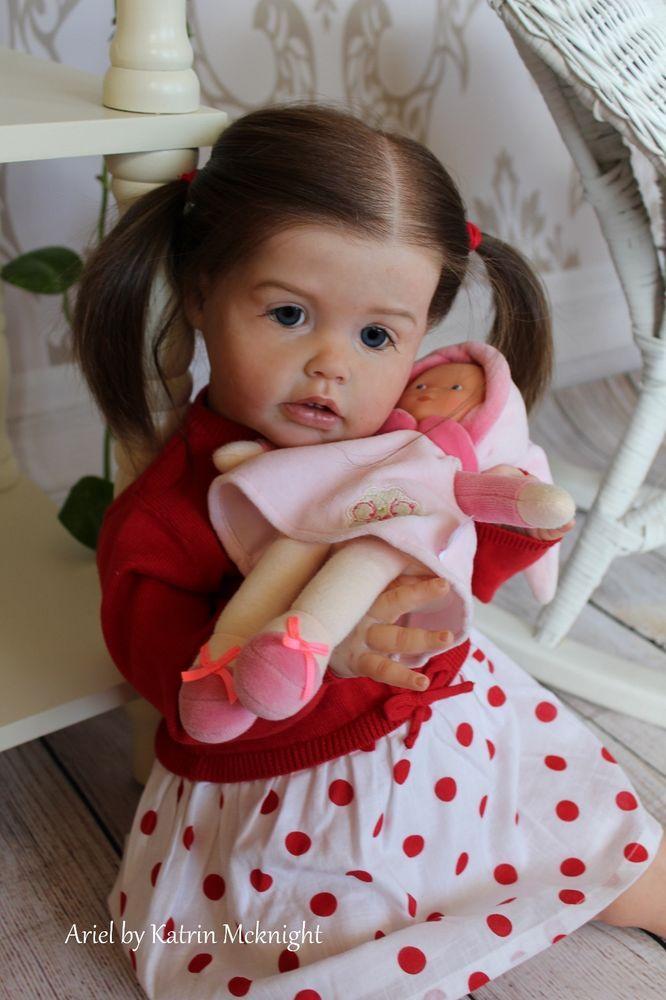 Reborn Toddler Doll Ariel By Joanna Kazmierczak Katrin