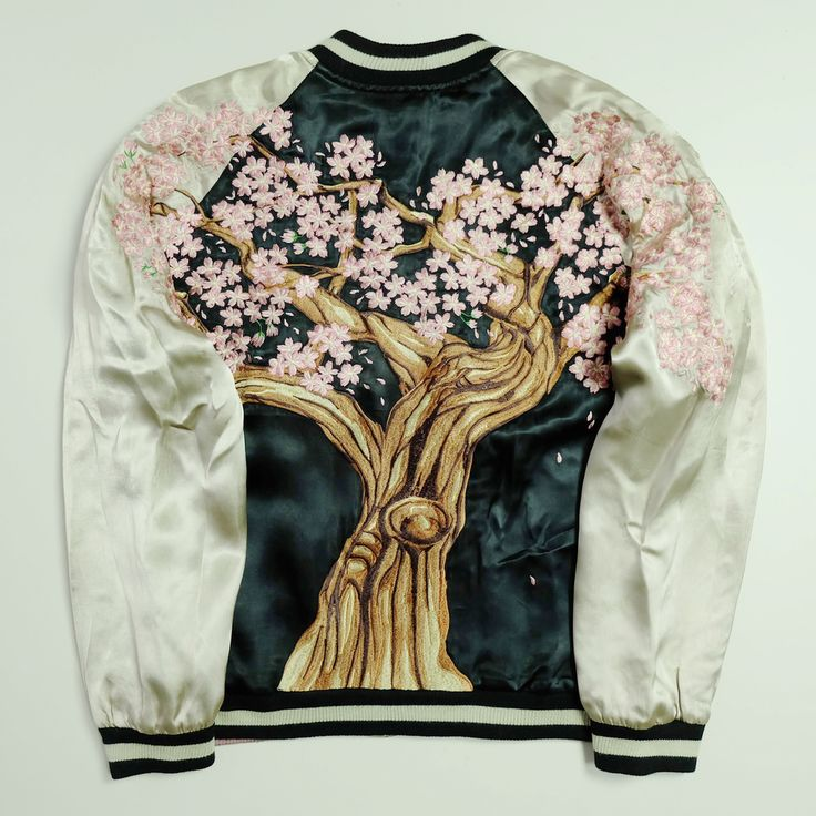 Best images about embroidered bomber japanese sukajan