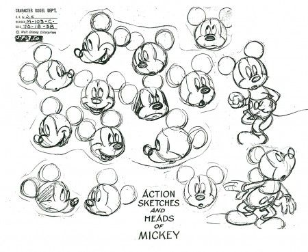 Michael Sporn Animation – Splog » More Mickey Models