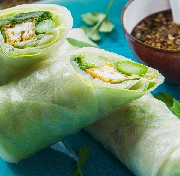 Involtini vegani con foglia di riso – LEITV