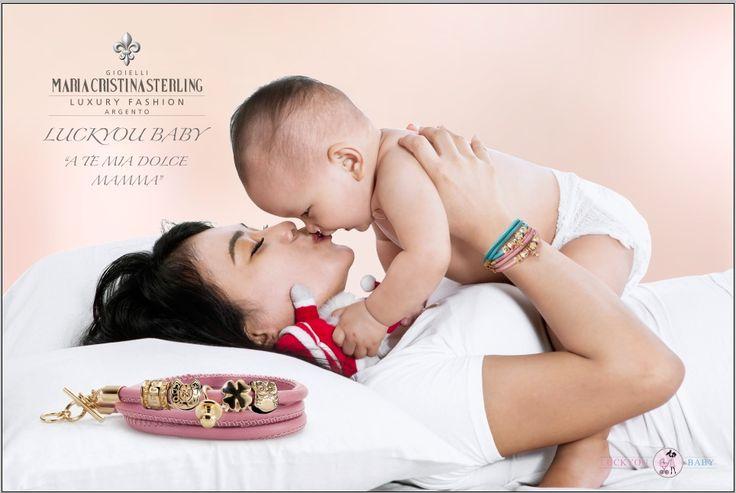 bracciali luckyou baby per la mia dolce mamma argento made in Italy http://shop.mariacristinasterling.it/categoria-prodotto/luckyou/