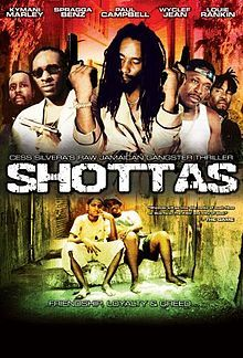 """The poster of the movie """"Shottas"""""""