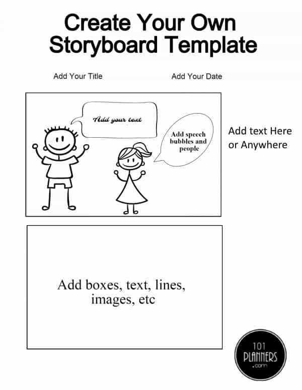 How to add speech bubbles `PRINTABLE ORGANIZING TEMPLATES