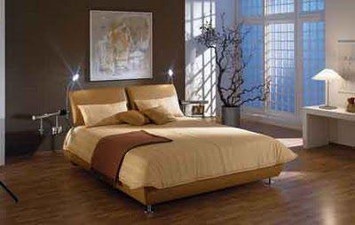 Zen Bedroom Ideas Modern Bedroom With Wood Floor Zen Tree High Windows
