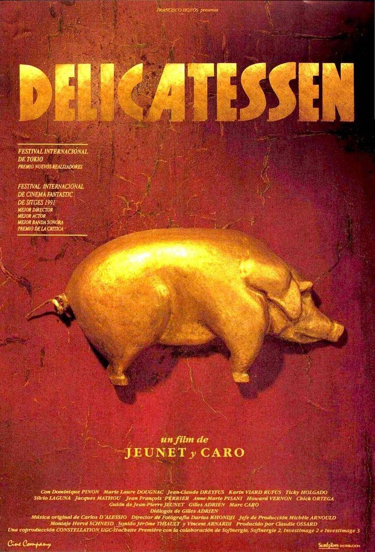 Delicatessen (1991) Francia. Dir: Jean-Pierre Jeunet e Marc Caro. Fantasía. Sátira. Películas de culto - DVD CINE 186