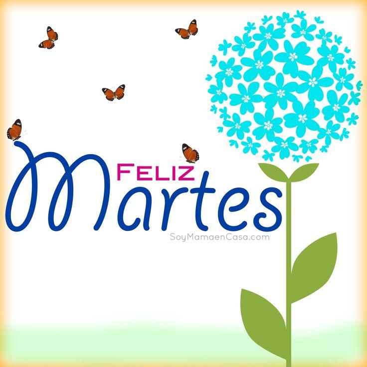 Buenos días ! #feliz #martes  www.soymamaencasa.com