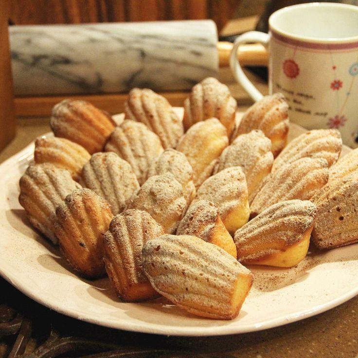 Мини-печенье «Мадлен» по-прустовски