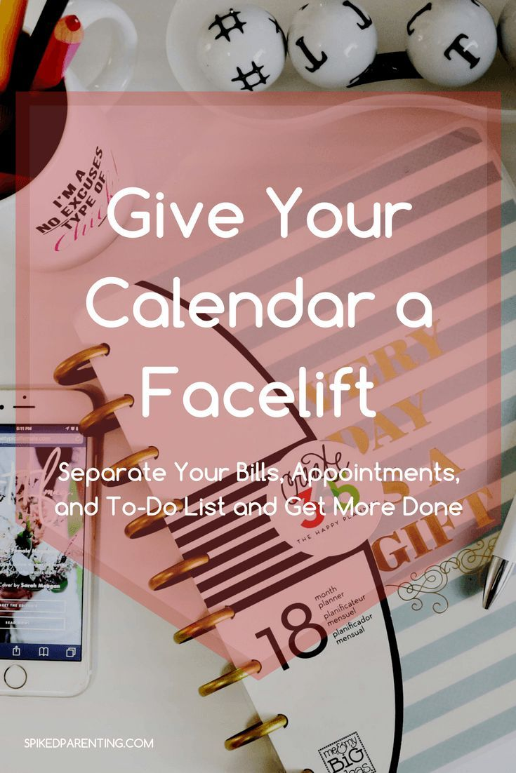 Give Your Calendar a Facelift - Get More Done in Less Time!