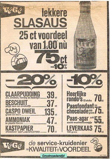 reclame in de oude tijd