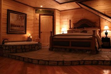 I want for our honeymoon!!!!!!!    Starlight Creek-1 BR, Sleeps 2 -Beavers Bend Getaways, Cabin Rentals in Broken Bow, Oklahoma