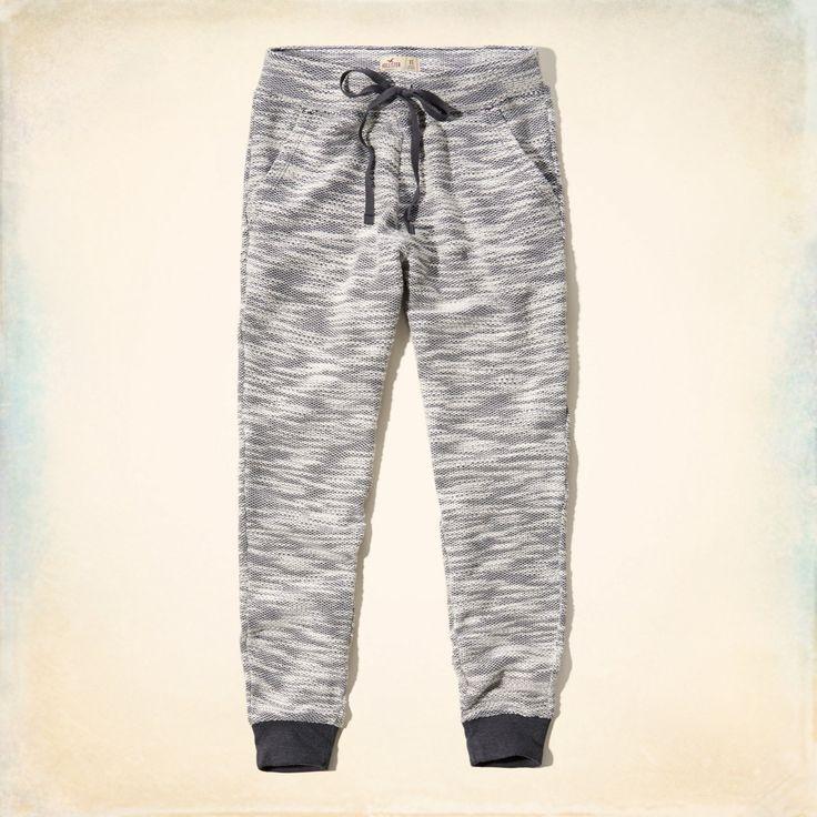 SIZE M // Girls Hollister Textured Knit Joggers | Girls Jeans & Bottoms | HollisterCo.com