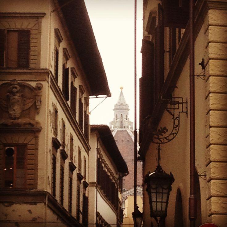 the Duomo From Santa Maria Novella Square