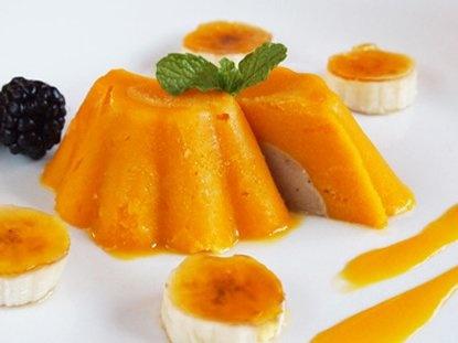 Cúpulas de Mango y Mousse de Plátano - Que Rica Vida