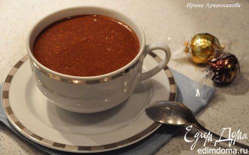 Горячий шоколад с медом и корицей | Кулинарные рецепты от «Едим дома!»