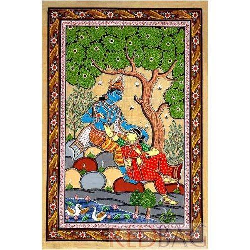 Radha Krishan Patachitra Painting