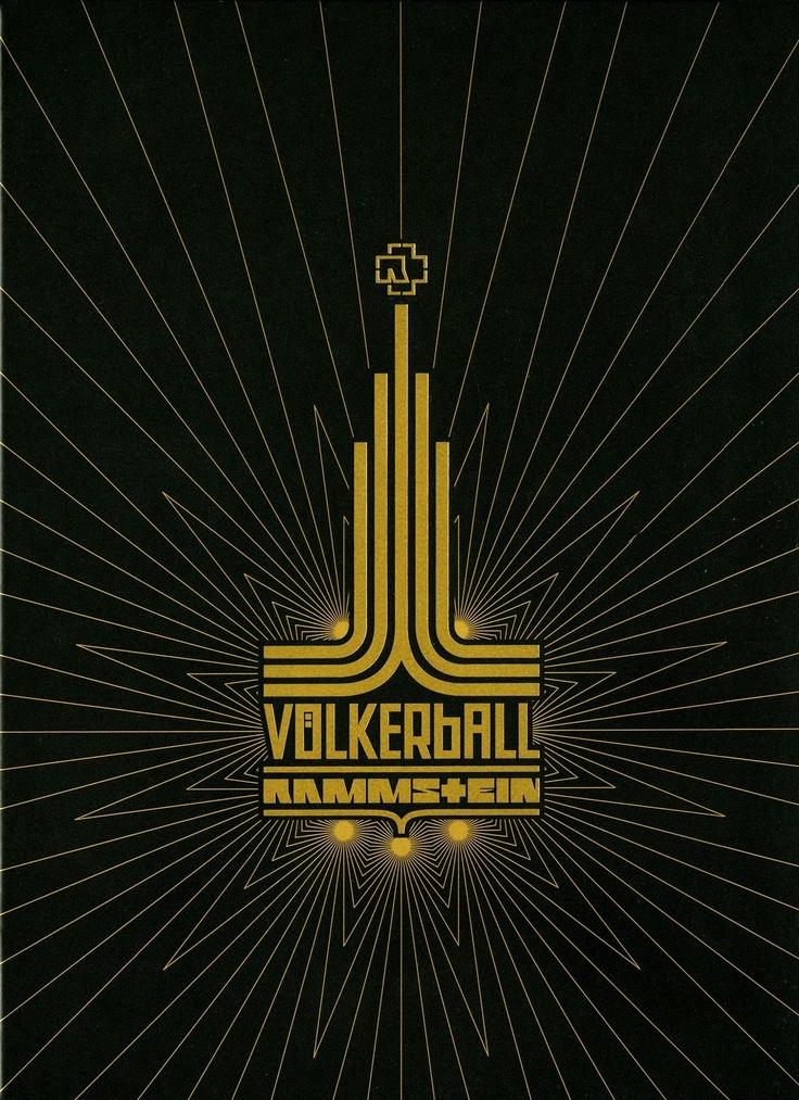 Rammstein - Volkerball (2006). El logotipo es idéntico al de los Juegos Olímpicos de Moscú de 1980.