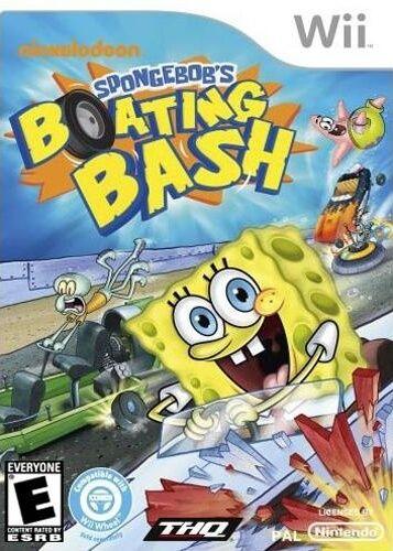 Spongebobs Boating Bash Wii Pal Multi Mega Descargar Juegos