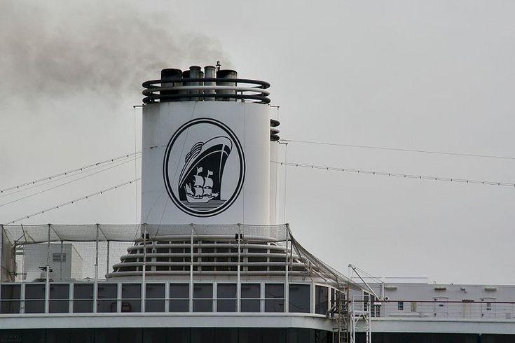 Een silhouet van het schip de Halve Maen siert al decennia lang het logo van de Holland-Amerika Lijn.
