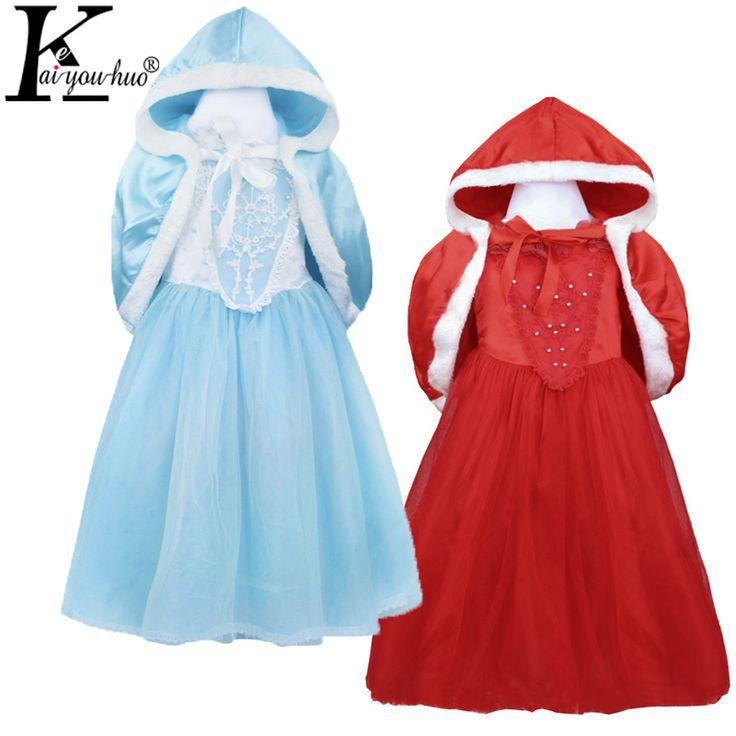 $5.09 (Buy here: https://alitems.com/g/1e8d114494ebda23ff8b16525dc3e8/?i=5&ulp=https%3A%2F%2Fwww.aliexpress.com%2Fitem%2FChristmas-dress%2F32746553980.html ) New Kids Snow White Princess Dress Girls Christmas Dresses Elsa Dress Halloween Costume For Kids Party Gloves Fantasia Dress for just $5.09