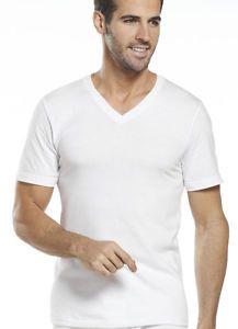 Buy Jockey Mens Tall Man Classic V-Neck 2 Pack T-Shirts Shirts 100% cotton