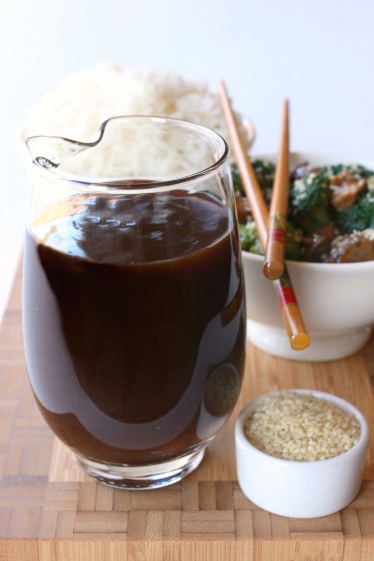 Easy Stir-Fry Sauce - Takes 5 minutes to make and only 1 teaspoon of oil! Never buy it from the store again!