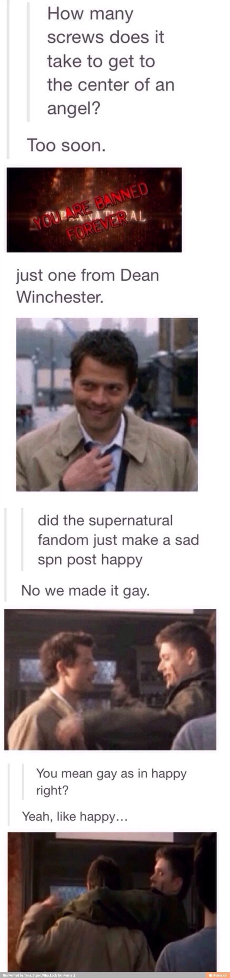 It's gay in every meaning of the word