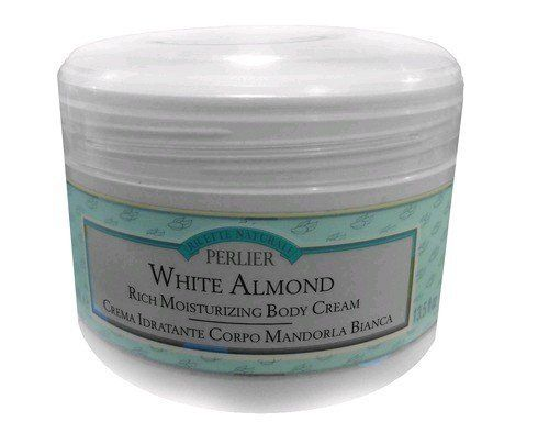 Perlier White Almond Rich Moisturizing Body Cream, 13.5 Oz. by Perlier. $13.40. Nurturing and moisturizing, enriched with White Almond Oil and Milk, quickly penetrates, leaving the skin supple, and smooth for ultimate protection against dryness. Recommended for dry and very dry skin.. Save 83%!