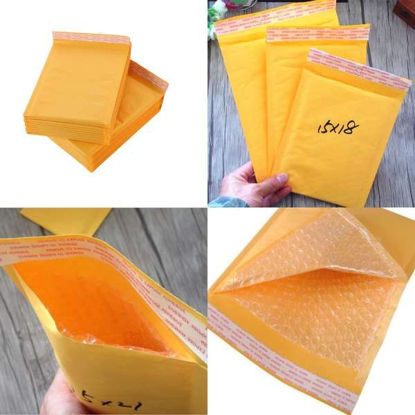 4x7 Poly Self Adhesive Bubble Envelope Mailers