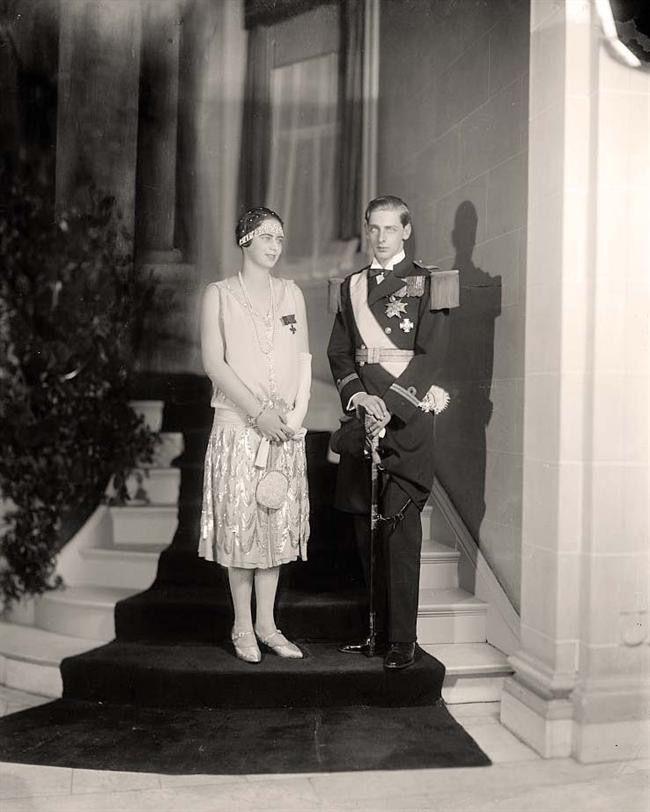 1926 Princess Ileana and Prince Nicholas of Romania