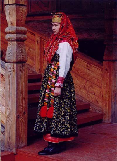 Архангельская область, село Верхняя Тойма. Середина XIX века