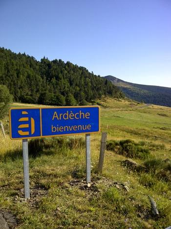 Ardèche, France.