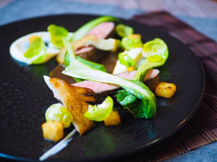 Květová špička sous vide, celer, med a sójová omáčka | Oh My Chef