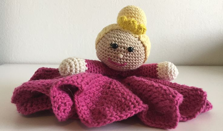 Princess lovey / security blanket