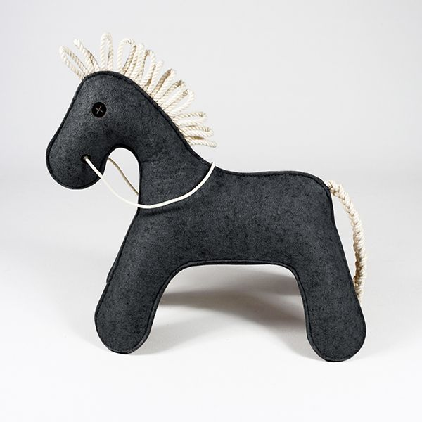 toy horse - KONNIK - dark melange 3