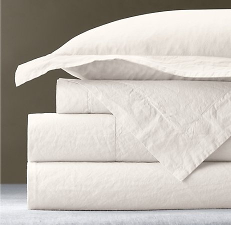 Italian 50-Year-Wash vintage sheets.  The ultimate luxury bedding, and a must have!