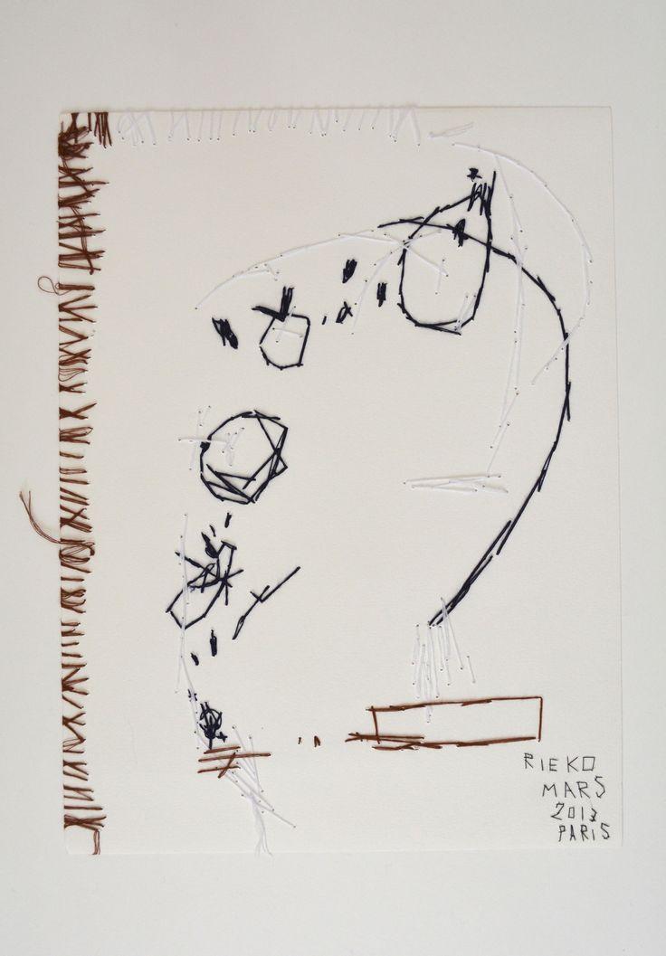 Rieko Koga (born in Tokyo; based in Paris since 1993)