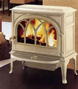 Cute wood burning stove.