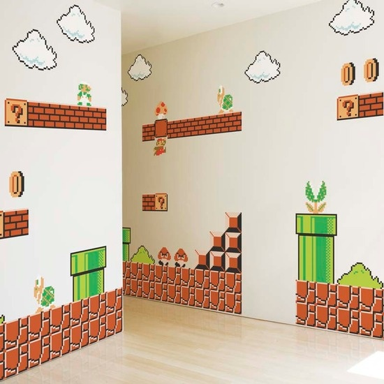 See if Victoria could paint something like this in the boys' room?