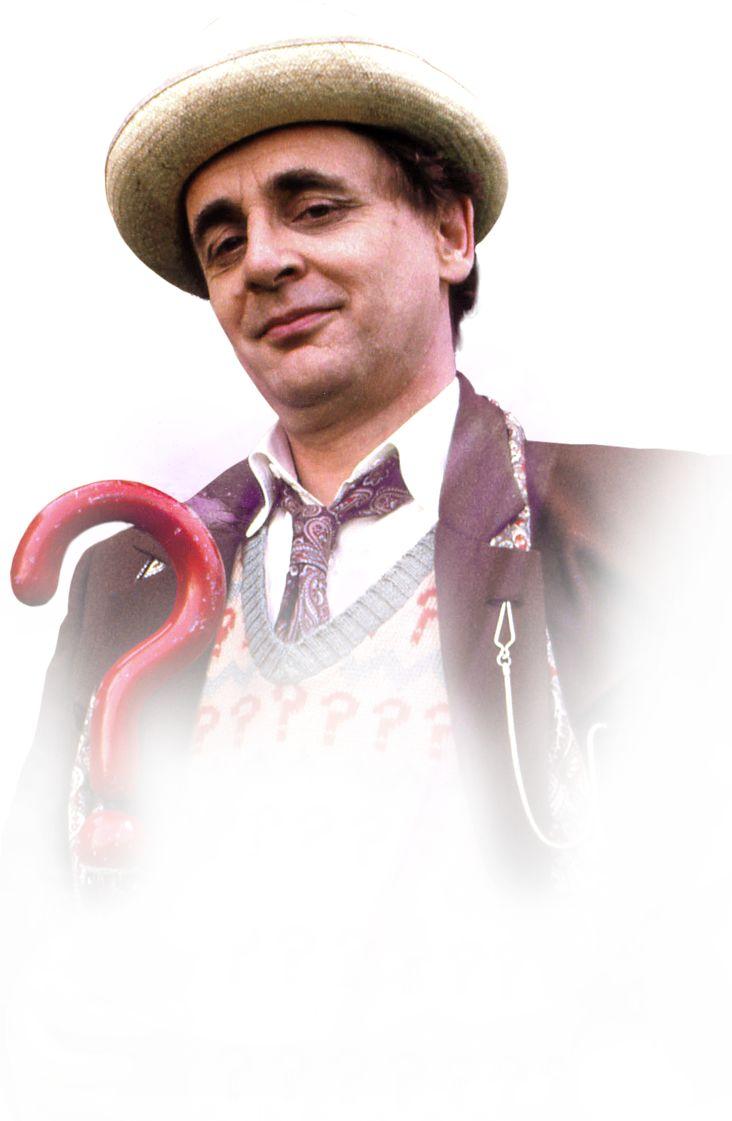 SEVENTH DOCTOR-Sylvester McCoy 1987-1989, 1996 COMPANIONS-The Brigadier, Mel Bush, Ace MONSTERS-Daleks, Cybermen, The Master, Davros, The Rani, Kandy Man, Haemovores