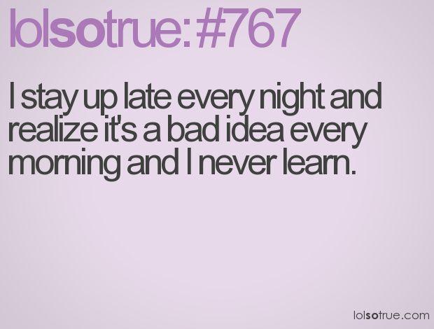 !!!: Lolsotrue Yep, Nightowl, Truth, Everyday Night, College, Summer, Morning, Everytime