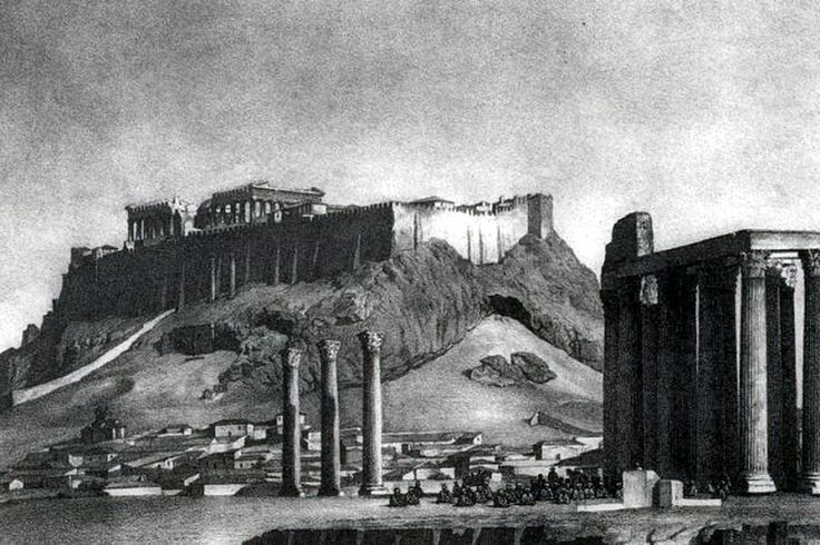 Ο ναός του Ολυμπίου Διός και η Ακρόπολη