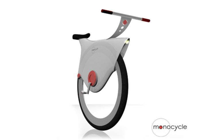 Il designer Harald Palma ha disegnato un monociclo che sicuramente ha dalla sua semplicità, leggerezza e trasportabilità. C'è un complesso sistema di giroscopi ed accelerometri elettrici dietro alla stabilità di Monocycle e per ora è solo nel mondo delle idee. Ma il design è convincente.