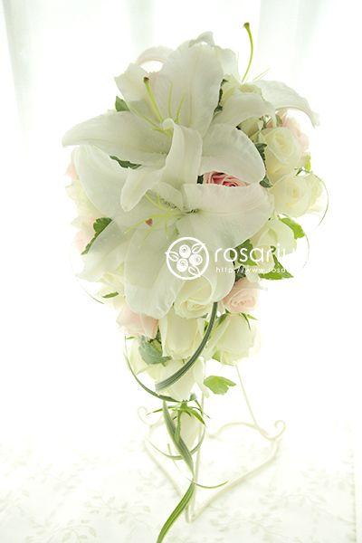 No.f0243・ウエディングブーケ(生花) | rosarium