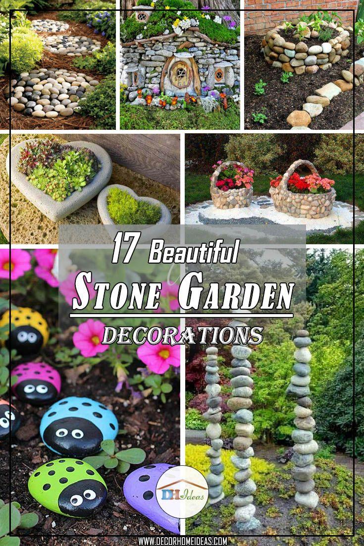Stone Decoration Garden Home