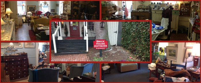 This photos is not about the Commodore's song Brick House...but about a business in Lewisburg WV, Brick House Antiques