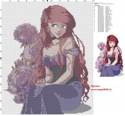 Schema punto croce Ariel elegante 110x136 29 colori.jpg (4.07 MB) Osservato 537 volte