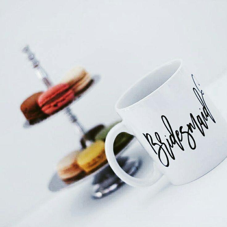 Bridesmaid mug $15.95 www.journeysbylynnekooij.com.au