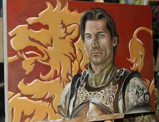Jaime Lannister -  Nicolaj Coster-Waldau.  Artist: Daking Y