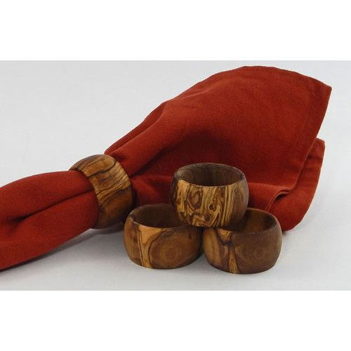 Found it at Wayfair - Olive Wood Napkin Rings