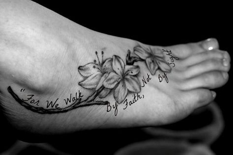 "Designed, by yours truly, with my favorite bible verse. ""For we walk by faith, not by sight"" :)"